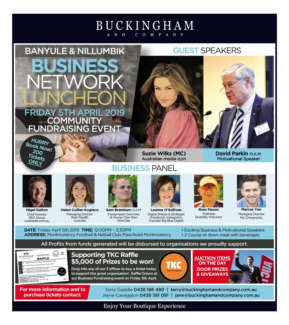 Buckingham & Company Business Network Luncheon